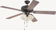 Craftmade K11117 Pro Builder 206 Aged Bronze Textured Indoor 52  Home Ceiling Fan