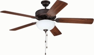 Craftmade K11119 Pro Builder 207 Aged Bronze Brushed Fluorescent Indoor 52  Home Ceiling Fan