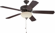Craftmade K11125 Pro Builder 208 Aged Bronze Textured Fluorescent Indoor 52  Home Ceiling Fan