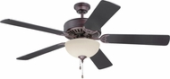 Craftmade K11126 Pro Builder 208 Oiled Bronze Fluorescent Indoor 52  Ceiling Fan