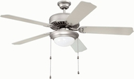 Craftmade K11128 Pro Builder 209 Brushed Satin Nickel Fluorescent Indoor 52  Home Ceiling Fan