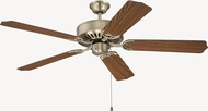Craftmade K11131 Pro Builder Antique Brass Indoor 52  Home Ceiling Fan