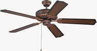 Craftmade K11134 Pro Builder Biscay Walnut Indoor 52  Home Ceiling Fan