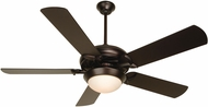Craftmade K11140 Civic Oiled Bronze Fluorescent Indoor 52  Home Ceiling Fan