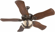 Craftmade K11143 Cordova Aged Bronze Textured Fluorescent Indoor 54  Home Ceiling Fan
