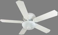Craftmade K11165 Pro Contemporary Flushmount White Fluorescent Indoor 52  Ceiling Fan