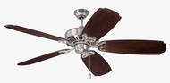 Craftmade K11198 American Tradition Stainless Steel Indoor 56 Home Ceiling Fan