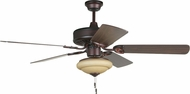 Craftmade K11224 CXL Oiled Bronze Fluorescent Indoor 52  Ceiling Fan