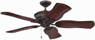 Craftmade K11231 Monaghan Oiled Bronze Gilded Indoor 54  Home Ceiling Fan
