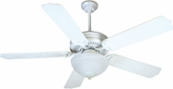 Craftmade K11241 Porch Fan White Fluorescent Outdoor 52  Home Ceiling Fan
