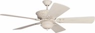 Craftmade K11245 Pavilion Antique White Distressed Indoor / Outdoor 54 Home Ceiling Fan
