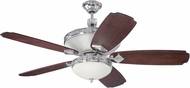 Craftmade K11249 Saratoga Chrome Indoor 56  Ceiling Fan