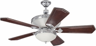 Craftmade K11251 Saratoga Chrome Indoor 56  Ceiling Fan