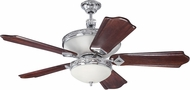 Craftmade K11252 Saratoga Chrome Indoor 56  Home Ceiling Fan