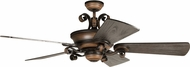 Craftmade K11255 Seville Espana Spanish Bronze Indoor 68  Ceiling Fan