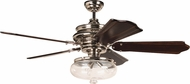 Craftmade K11262 Townsend Polished Nickel Indoor 56  Home Ceiling Fan