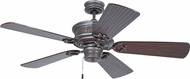 Craftmade K11265 Woodward Mocha Bronze Silver Wash Indoor 54  Home Ceiling Fan