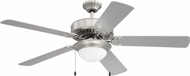 Craftmade K11297 Pro Energy Star 209 Brushed Polished Nickel LED 52  Residential Ceiling Fan