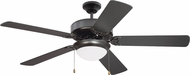 Craftmade K11299 Pro Energy Star 209 Oiled Bronze LED 52  Home Ceiling Fan