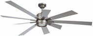 Craftmade KAT72PT-72TI Katana Contemporary Pewter LED 72  Home Ceiling Fan
