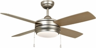 Craftmade LAV44BN4LK-LED Laval Brushed Satin Nickel LED 44  Home Ceiling Fan