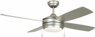Craftmade LAV52BN4LK-LED Laval Brushed Satin Nickel LED 52  Ceiling Fan