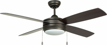Craftmade LAV52ESP4LK-LED Laval Espresso LED 52  Home Ceiling Fan