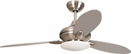 Craftmade LO52BNK3 Loris Brushed Polished Nickel Halogen 52  Home Ceiling Fan