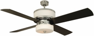 Craftmade MO56CH4 Midoro Contemporary Chrome Indoor 56  Home Ceiling Fan