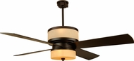 Craftmade MO56OB4 Midoro Modern Oiled Bronze Indoor 56  Ceiling Fan