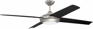 Craftmade MOD60BNK4 Moderne Contemporary Brushed Polished Nickel LED 60  Ceiling Fan