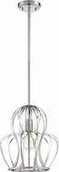 Craftmade P665CH1 Modern Chrome Mini Hanging Pendant Lighting