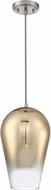 Craftmade P860BNK1 Contemporary Brushed Polished Nickel Mini Lighting Pendant