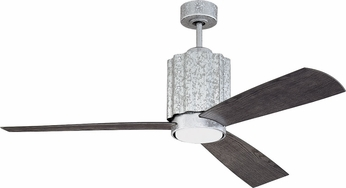 Craftmade PNR52GV3 Pioneer Galvanized LED 52  Home Ceiling Fan