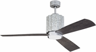 Craftmade PNR52GV3 Pioneer Galvanized Steel LED Indoor / Outdoor 52  Home Ceiling Fan