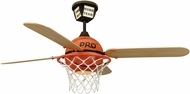 Craftmade PS52BB4 ProStar Basketball Modern ProStar Basketball Fluorescent Indoor 52  Ceiling Fan