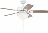 Craftmade TCE42W5C1 Twist N Click White LED 42  Ceiling Fan