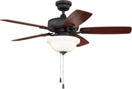 Craftmade TCE52ESP5C1 Twist N Click Espresso LED 52  Ceiling Fan