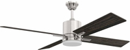 Craftmade TEA52BNK4-UCI Teana Brushed Polished Nickel LED 52  Home Ceiling Fan