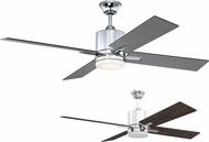 Craftmade TEA52CH4 Teana Modern Chrome LED 52  Ceiling Fan