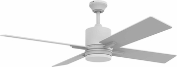 Craftmade TEA52W4-UCI Teana Contemporary White LED 52  Home Ceiling Fan