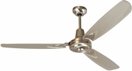 Craftmade VE58SS3 Velocity Contemporary Stainless Steel Indoor 58  Ceiling Fan