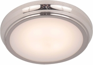 Craftmade X6509-PLN-LED X65 Series Polished Nickel LED 9  Flush Mount Light Fixture