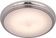 Craftmade X6511-PLN-LED X65 Series Polished Nickel LED 11  Flush Ceiling Light Fixture