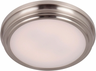 Craftmade X6609-BNK-LED X66 Series Brushed Polished Nickel LED 9  Overhead Light Fixture
