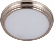 Craftmade X6613-BNK-LED X66 Series Brushed Polished Nickel LED 13  Ceiling Light Fixture