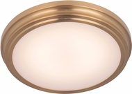Craftmade X6613-SB-LED X66 Series Satin Brass LED 13  Flush Mount Lighting