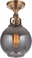 Craftmade X8308-VB State House Modern Vintage Brass Overhead Lighting