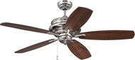 Craftmade YOR52PLN5 Yorktown Polished Nickel Indoor 52  Home Ceiling Fan