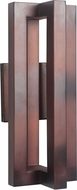Craftmade Z1514-21-LED Kai Modern Aged Copper LED Exterior Wall Sconce Light